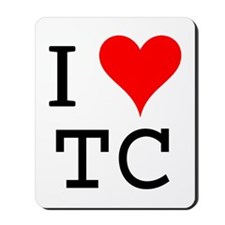 I Love TC Mousepad