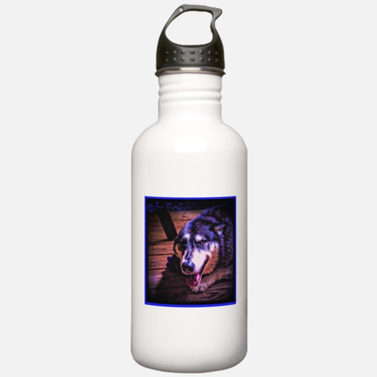In the Shadows (cool) Sports Water Bottle