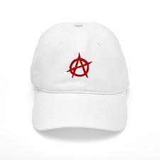 Anarchist 1 (red) Baseball Baseball Cap