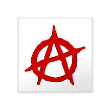 Anarchist 1 (red) Sticker