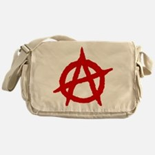 Anarchist 1 (red) Messenger Bag