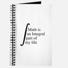 Math Is An Integral Part Of My Life Journal