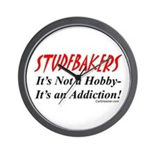 Studebaker Addiction Wall Clock