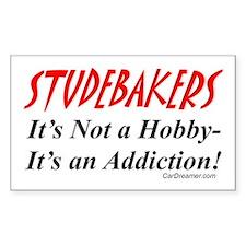 Studebaker Addiction Rectangle Bumper Stickers