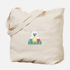 Easter Bunny Egg Hunt Tote Bag