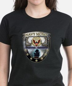 Navy Moms Hearts of Gold T-Shirt