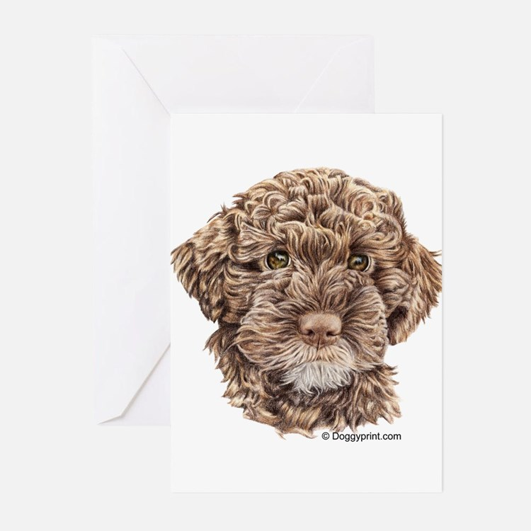 Cute Lagotto romagnolo Greeting Cards (Pk of 20)