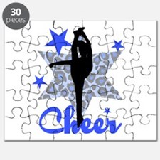 Blue Cheerleader Puzzle