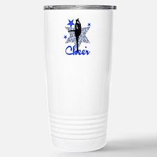 Blue Cheerleader Travel Mug