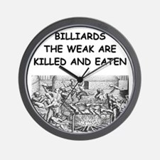 BILLIARDS6 Wall Clock