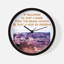 BILLIARDS5 Wall Clock