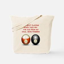 BILLIARDS2 Tote Bag