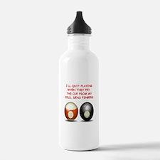 BILLIARDS2 Water Bottle