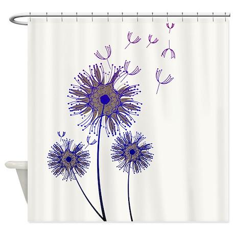 spring dandelion shower curtain by walela
