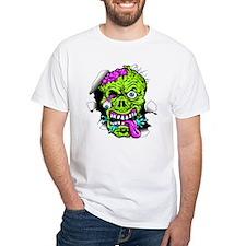 Green Zombie Head T-Shirt
