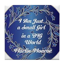 Small Girl Tile Coaster