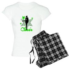 Green Cheerleader Pajamas