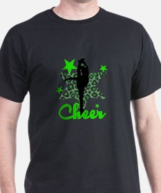 Green Cheerleader T-Shirt