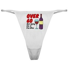 Over 60 Fine Wine Classic Thong