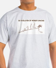 De Evolution of Morris Dancing T-Shirt