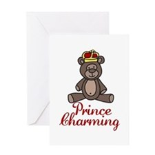 Prince Charming Greeting Cards