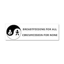 Cute Breastfeeding Car Magnet 10 x 3