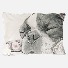Sleepy French Bulldog Pillow Case