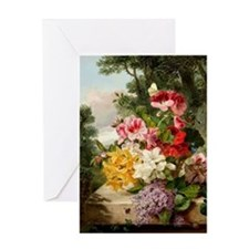 John Wainwright's painting, Floral S Greeting Card