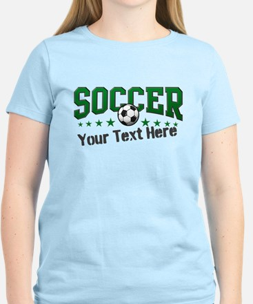 Soccer Personalized Women's Light T-Shirt