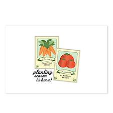 Planting Season Is Here! Postcards (Package of 8)