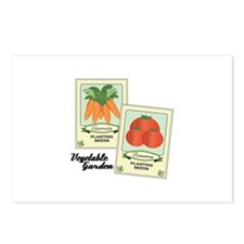 Vegetable Garden Postcards (Package of 8)