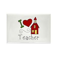 I Love Teacher! Magnets