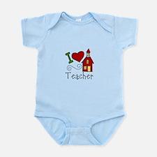 I Love Teacher! Body Suit
