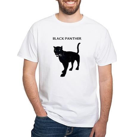 Panther White T-Shirt