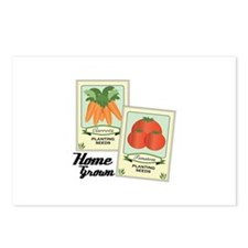 Home Grown Postcards (Package of 8)
