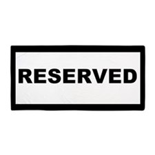 Reserved Beach Towels