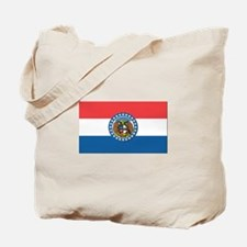 Flag of Missouri Tote Bag