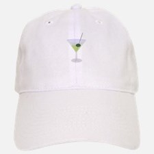 Martini And Olive Baseball Baseball Cap