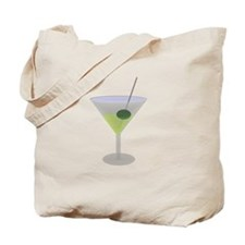 Martini And Olive Tote Bag