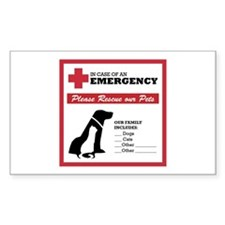 Cute Emergency Decal