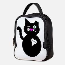 Rescue Cat Neoprene Lunch Bag