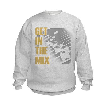 Get In the Mix Kids Sweatshirt