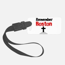 Remember Boston Luggage Tag