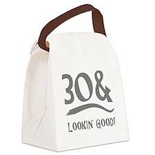30th Birthday Humor Canvas Lunch Bag