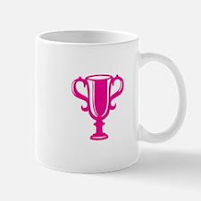 Pink Trophy Mugs