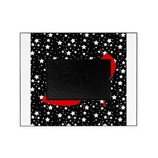 Red Heel on Black and White stars Picture Frame