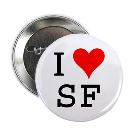"I Love SF 2.25"" Button (100 pack)"