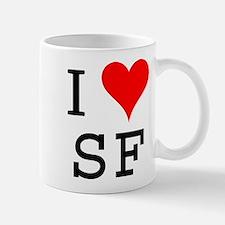 I Love SF Mug