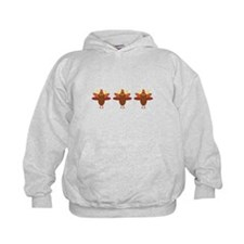 Cute Thanksgiving Turkeys Hoodie