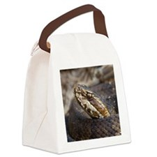 Water Moccasin Canvas Lunch Bag